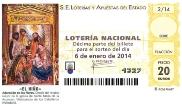 D�cimo de Loter�a del Ni�o 2014